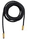 Women PU Leather Knitted Waist Belt/Rope/Chain in Solid Colors