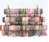 Woven Friendship Bracelet For Women Braided Tassel Bracelet Handmade Embroidery Bracelet gifts Vintage Jewelry Wholesale