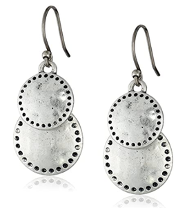 Lucky Brand Womens Double Drop Earring