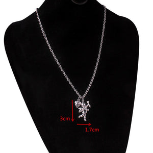 stainless steel chain 3mm trendy angel Play rabbit head tiger unicorn Necklace women unisex jewelry new punk flame necklaces men - Aptil Jewelery