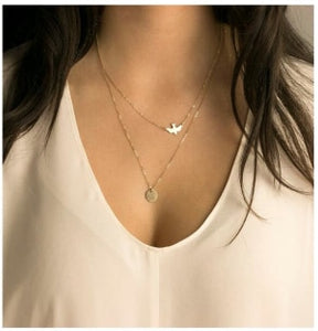 Simple Silver Plated Love Short Necklace For Women Choker Clavicle Bijoux Collars Jewelry Exo Collar 2019 Gift One Direction - Aptil Jewelery