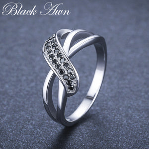 Classic 2.9g 925 Sterling Silver Fine Jewelry Engagement - Aptil Jewelery