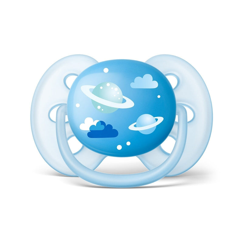 ebebek Philips Avent Ultra Soft Baby Pacifier 2pcs