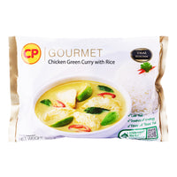 CP Green Curry Chicken with Rice 320gm/tray (Halal) - SGFoodMart.com SG Food Mart