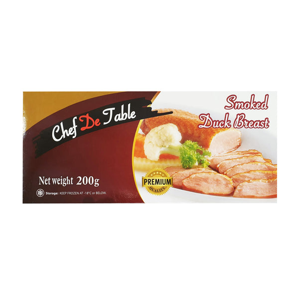Smoked Duck Breast Whole 200gm/pkt (Halal) - SGFoodMart.com SG Food Mart