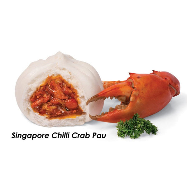 Chilli Crab Pau 30gm x 50pc/box (Halal) - SGFoodMart.com SG Food Mart