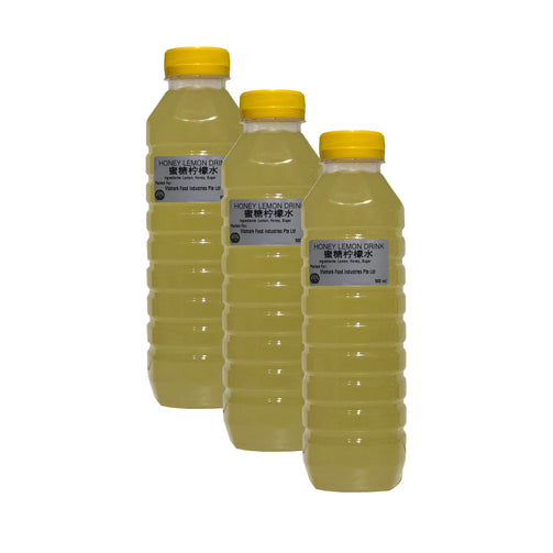 Honey Lemon Drink (Halal) 3btl - SGFoodMart.com SG Food Mart