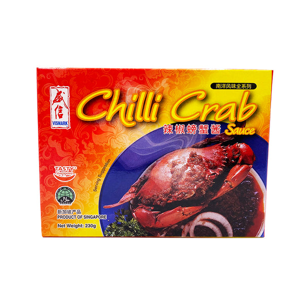 Vismark Chilli Crab Sauce 230gm/box (Halal)