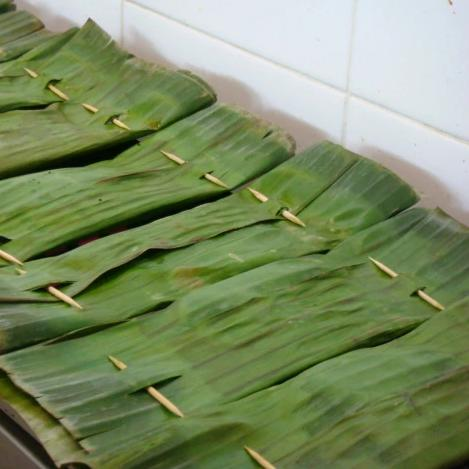 Otah in Banana Leaf for BBQ 10pcs/pkt (Halal) - SGFoodMart.com SG Food Mart