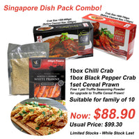 Singapore Dish Pack Combo (Limited Stocks)