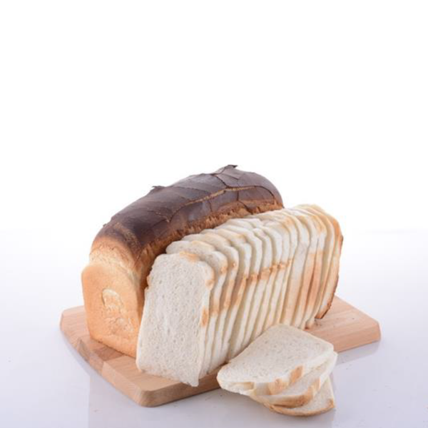 Traditional Open Top Bread White 1loaf (Halal) - SGFoodMart.com SG Food Mart