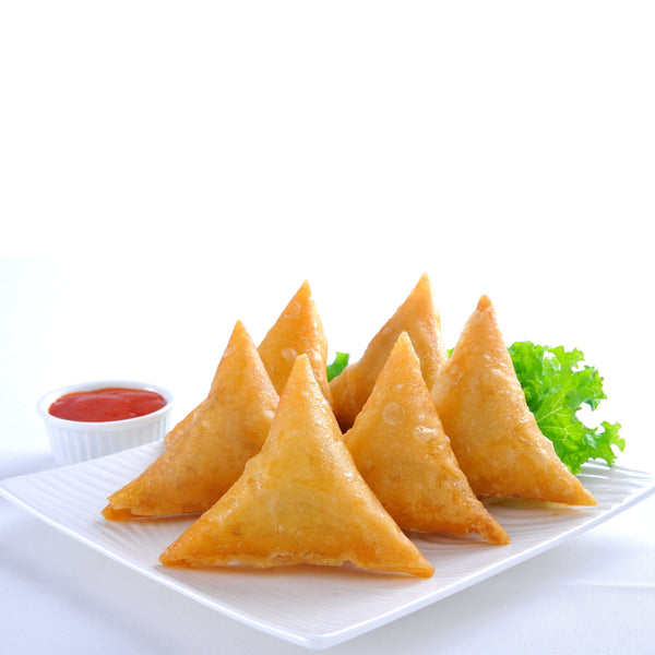 Mutton Curry Samosa 25gm x 50pc/box (Halal) - SGFoodMart.com SG Food Mart
