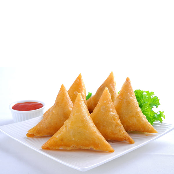 Vegetable Samosa 12gm x 100pc/box (Halal) - SGFoodMart.com SG Food Mart