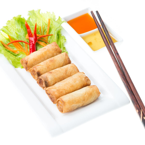 Vegetable Spring Roll 25gm x 50pc/box (Halal) - SGFoodMart.com SG Food Mart