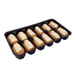 Mini White Chocolate Eclair 12pcs/tray (Halal)