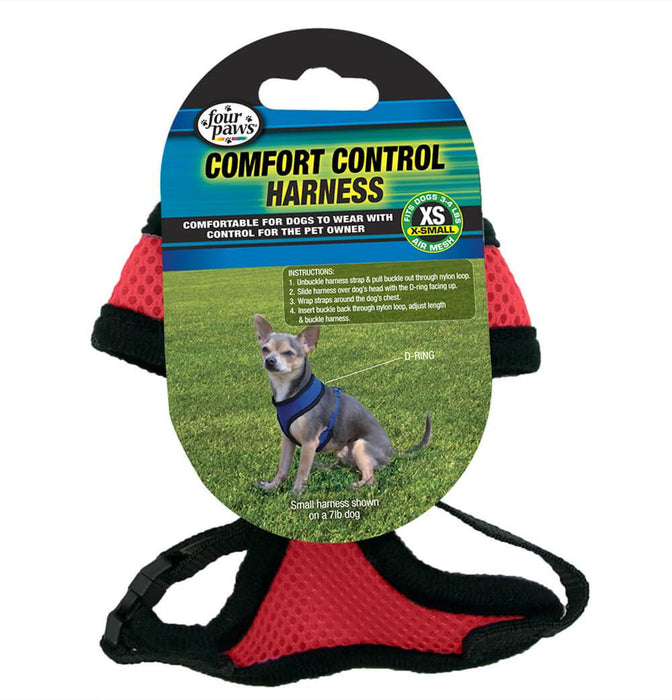 Four Paws® Red Comfort Control Harness