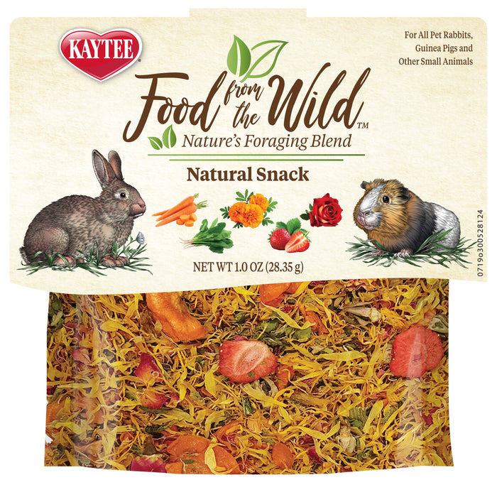 Kaytee Food From The Wild Treat Medley - Rabbit / Guinea Pig Formula