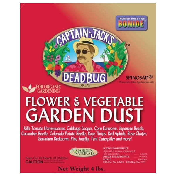 BONIDE CAPTAIN JACK 'S DEAD BUG BREW DUST