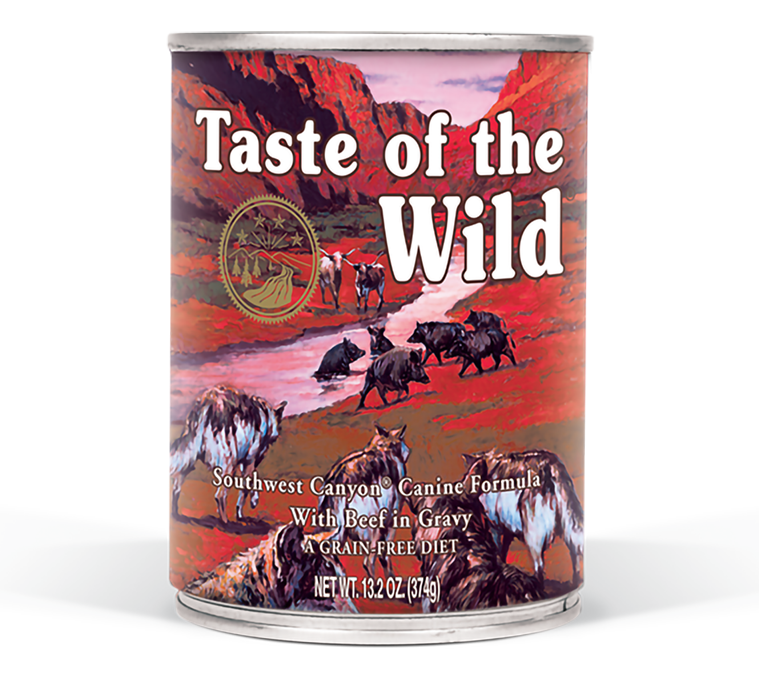 Taste Of The Wild Southwest Canyon Canned Dog Food