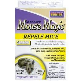 All-Natural Mouse Repellent, 4-Pk.