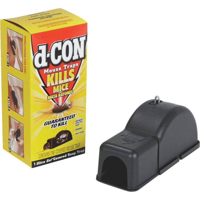 D-Con Ultra-Set Mechanical Covered Mouse Trap (1-Pack)
