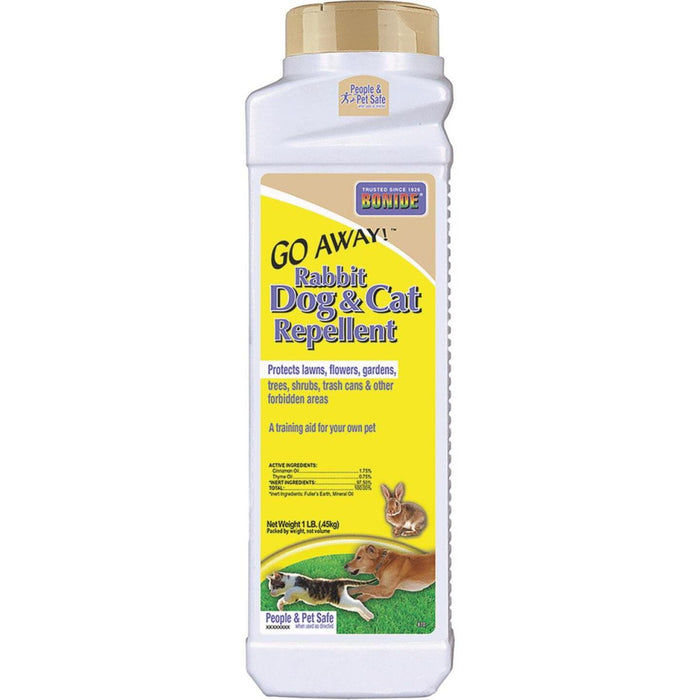 Bonide Go Away 1 Lb. Granular Rabbit, Dog, & Cat Repellent