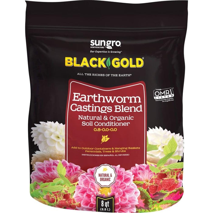 Black Gold Earthworm Castings