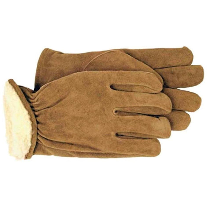 Boss Men's Pile Insulated Split Leather Driver Glove