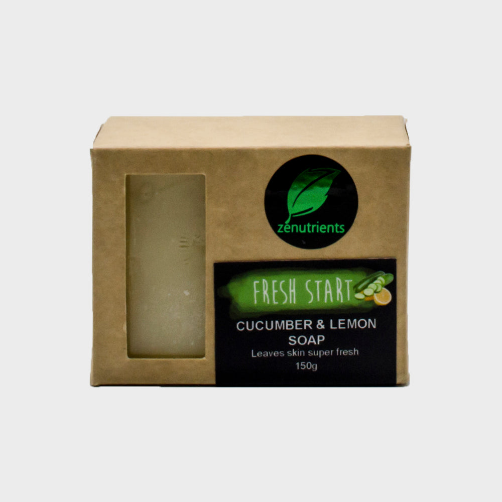 Fresh Start Cucumber & Lemon Soap 150g