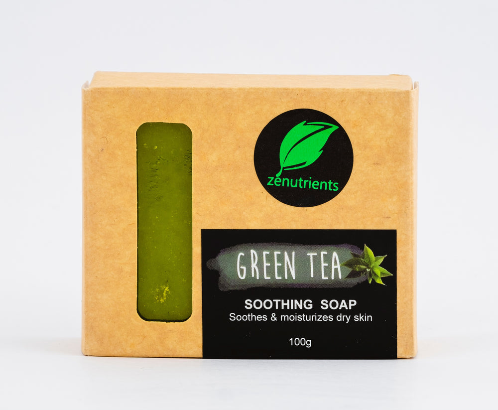 Green Tea Soothing Soap 100g
