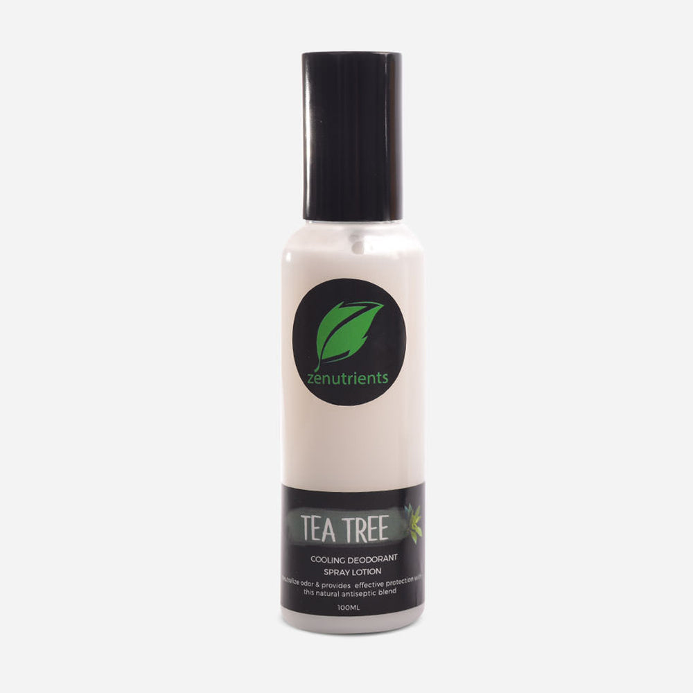 Tea Tree Cooling Deodorant Spray Lotion - 100ml