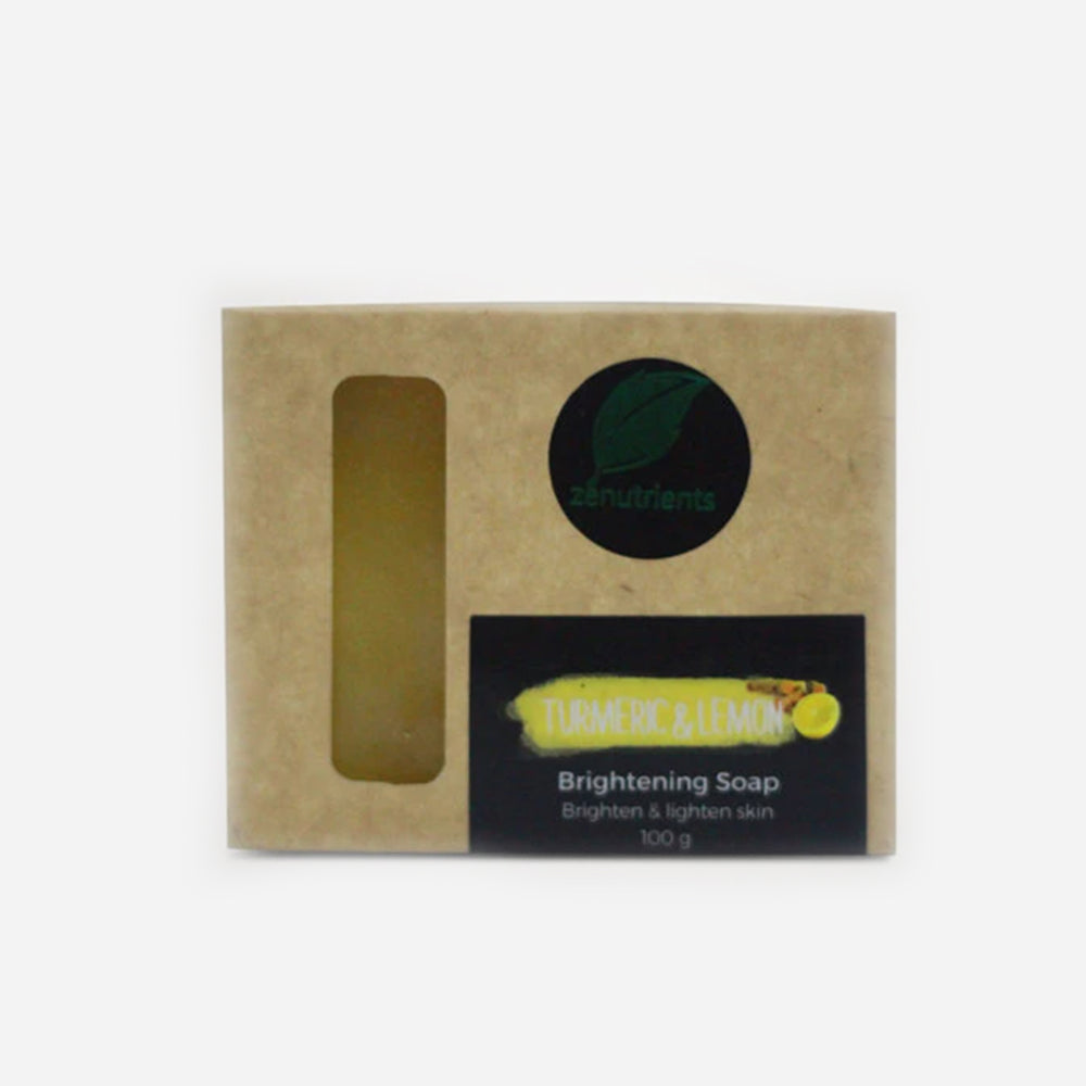Turmeric & Lemon Brightening Glycerin Soap 100g