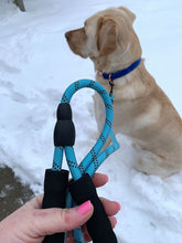 "Load image into Gallery viewer, MEDIUM (3/8"") REFLECTIVE ROPE LEASH"