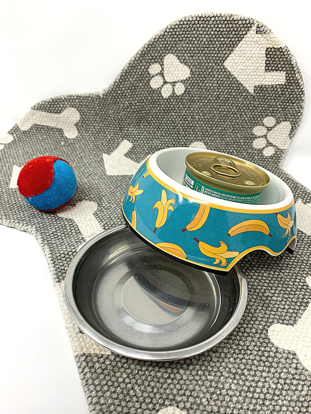2-in-1 Small Cat & Dog Bowl