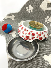 Load image into Gallery viewer, 2-in-1 Small Cat & Dog Bowl