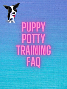 FREE DIGITAL DOWNLOAD PUPPY POTTY TRAINING FAQ
