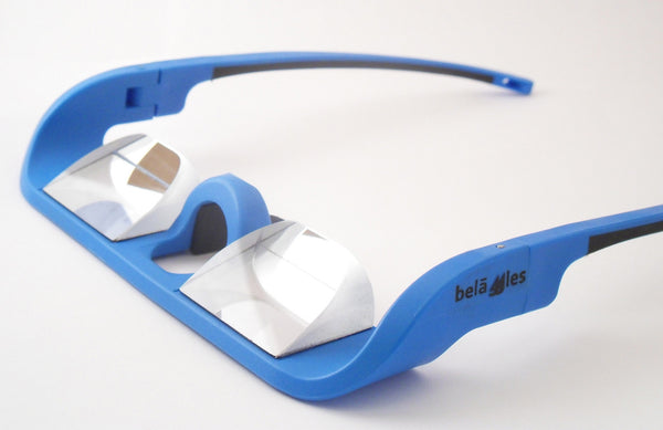Belaggles Belay Glasses - Cerulean Blue