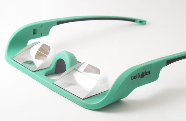 Belaggles Belay Glasses - Bright Green