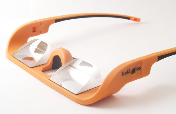 Belaggles Belay Glasses - Vibrant Orange