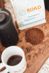 guatemala coffee beans, locally roasted, free shipping in canada with coffee subscription, full body medium roast coffee
