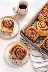 cinnamon buns, delicious coffee tantalizing your tastebuds, canada's best coffee roaster