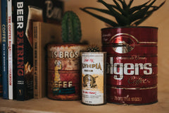 cheap coffee, coffee grounds, grocery store coffee
