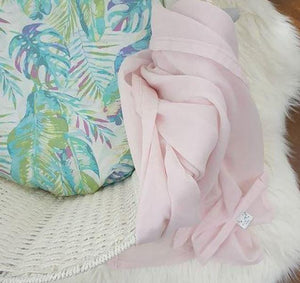Muslin Swaddle - Soft Pink