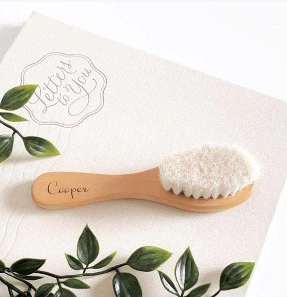 Personalised Wooden Hairbrush