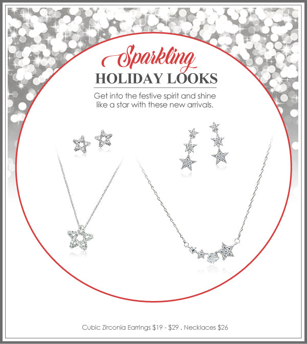 Sparkling Holiday Looks