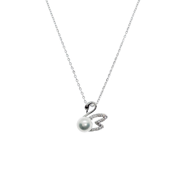 Swan Pearl Necklace