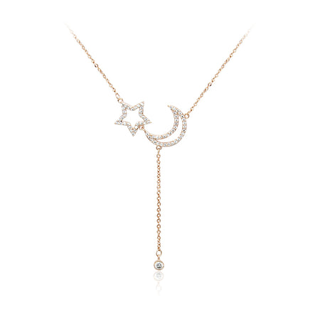 7 Stars Cubic Zirconia Necklace