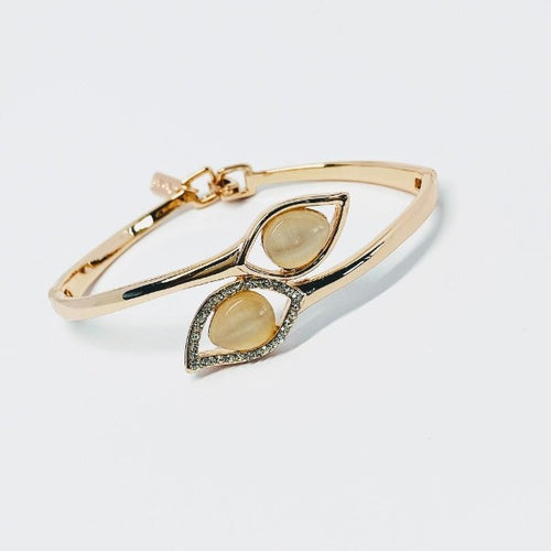 Simulated Moonstone Bangle
