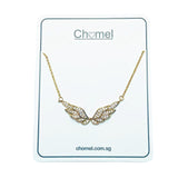 Angel Wings Cubic Zirconia Necklace