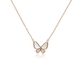 Butterfly Mother of Pearl Necklace